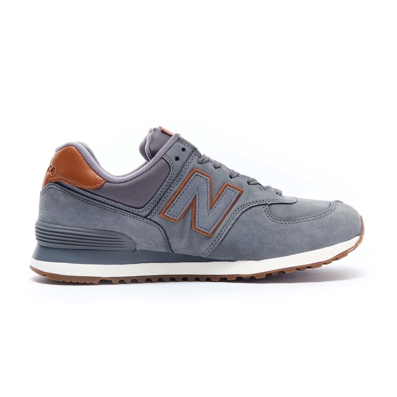 new balance 574 nubuck
