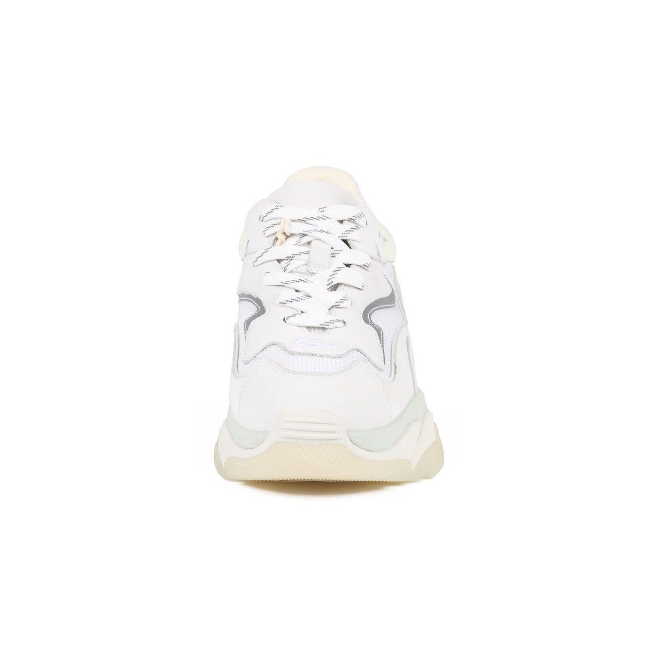 NIB ASH Women/'s Addict Bis Sneakers White Auth 36 37 38 39 40