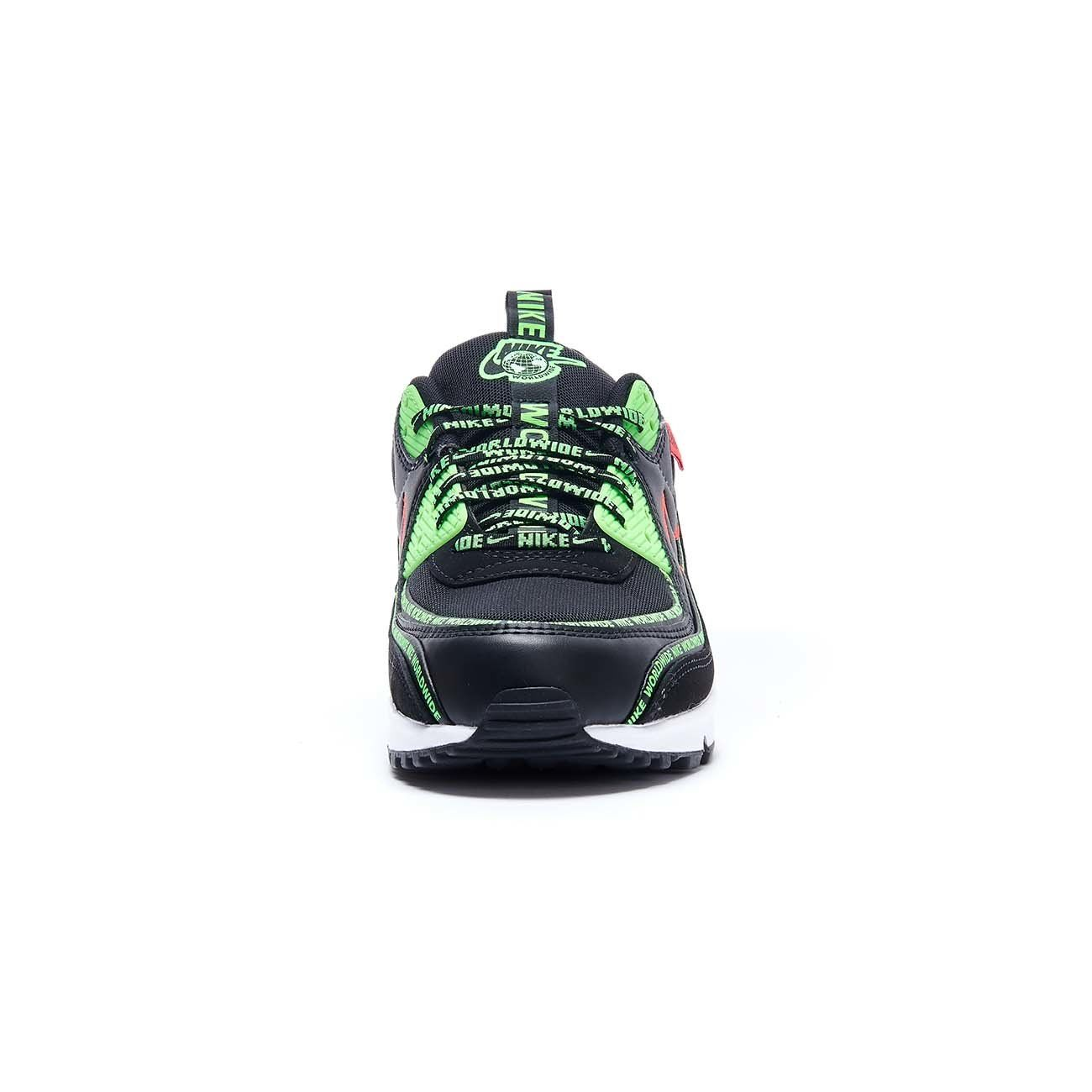 NIKE AIR MAX 90 SE SNEAKERS Man Black Green | Mascheroni Sportswear