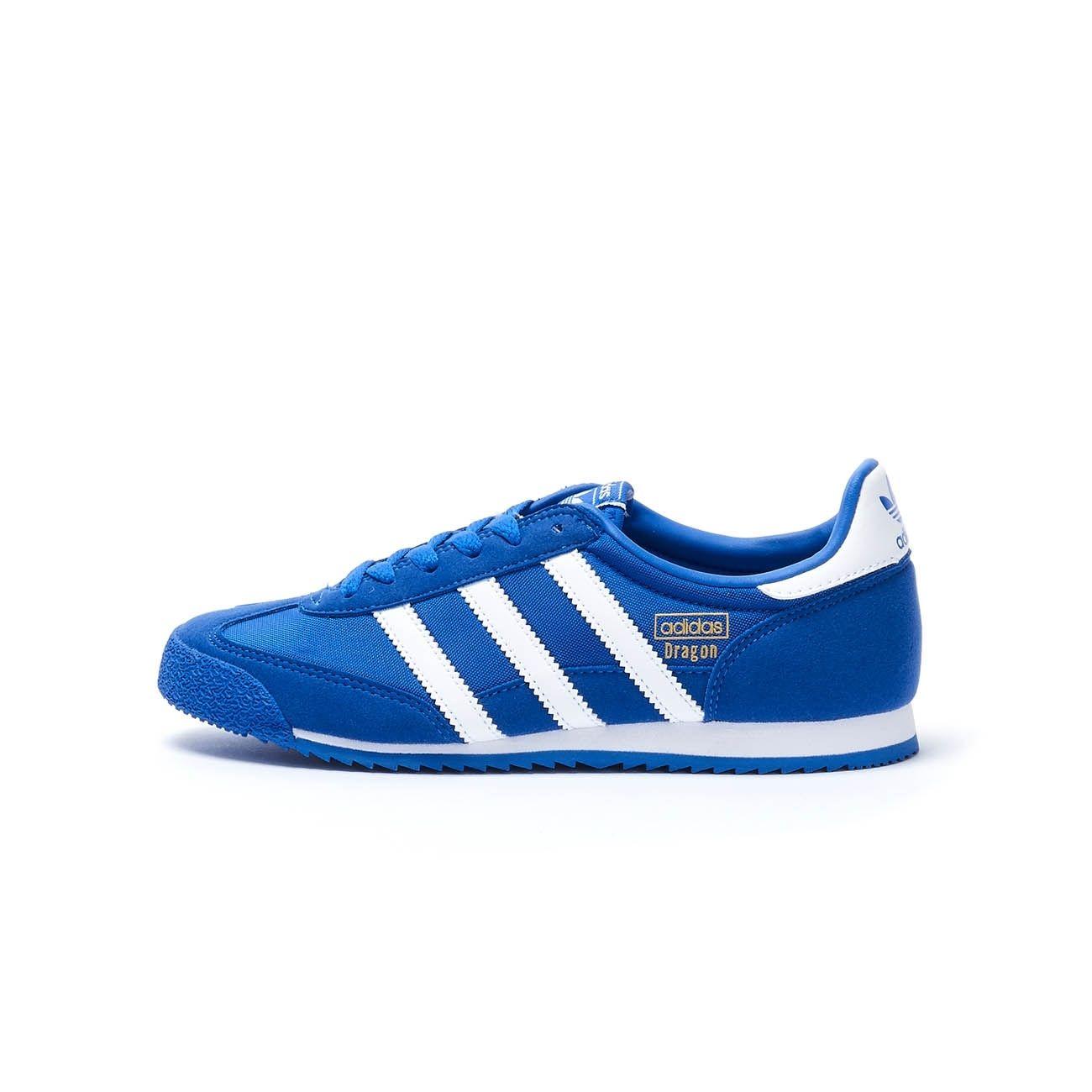 ADIDAS DRAGON OG SNEAKERS Kid Blue white | Mascheroni Sportswear