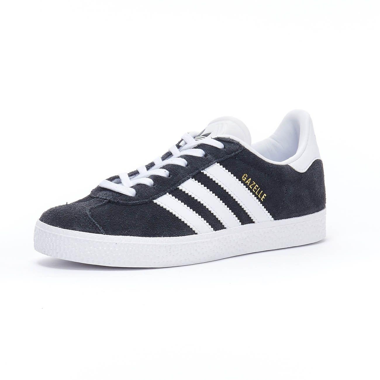 ADIDAS GAZELLE C SNEAKERS Kid Dark grey white   Mascheroni Sportswear