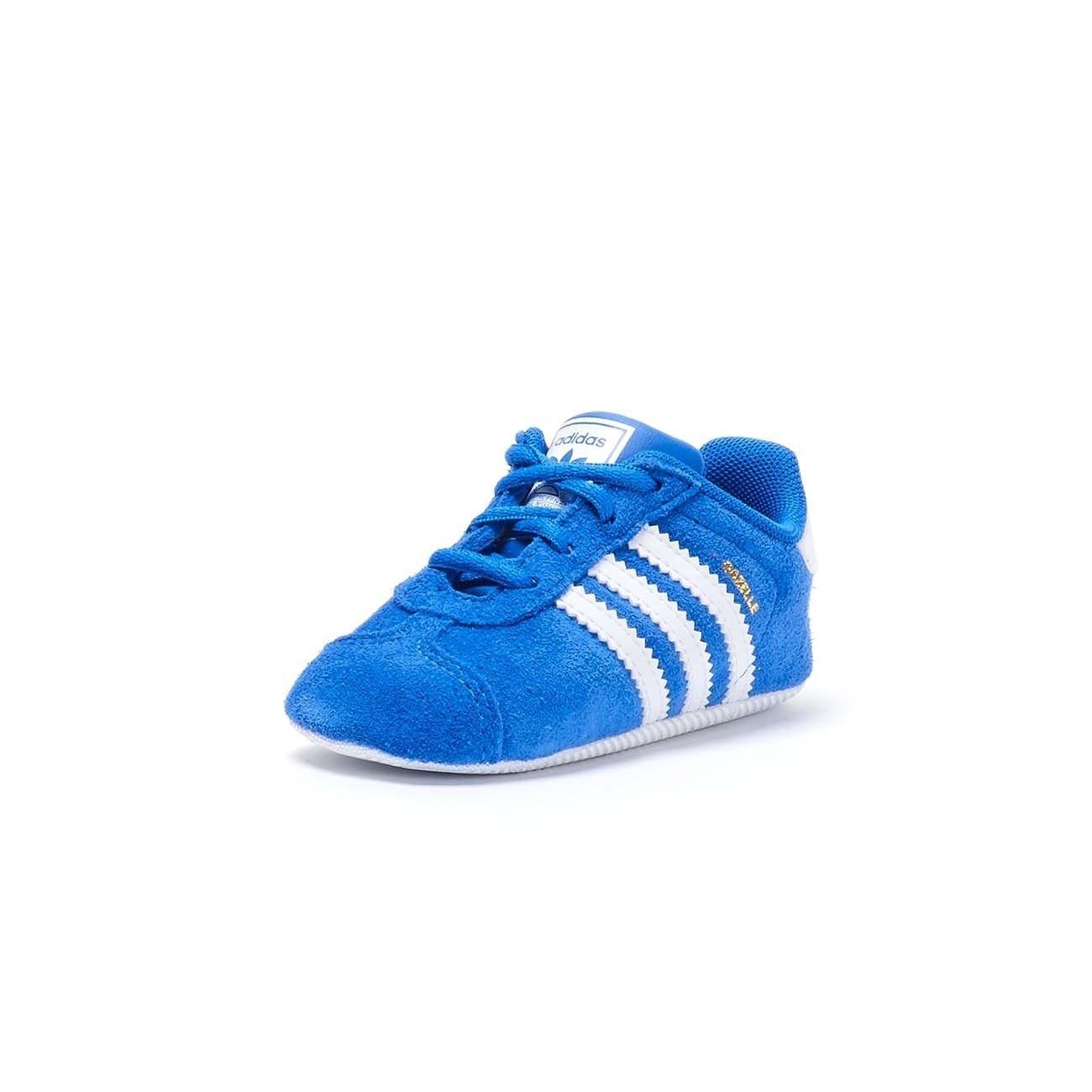 ADIDAS GAZELLE CRIB SNEAKERS Baby Blue white | Mascheroni Sportswear