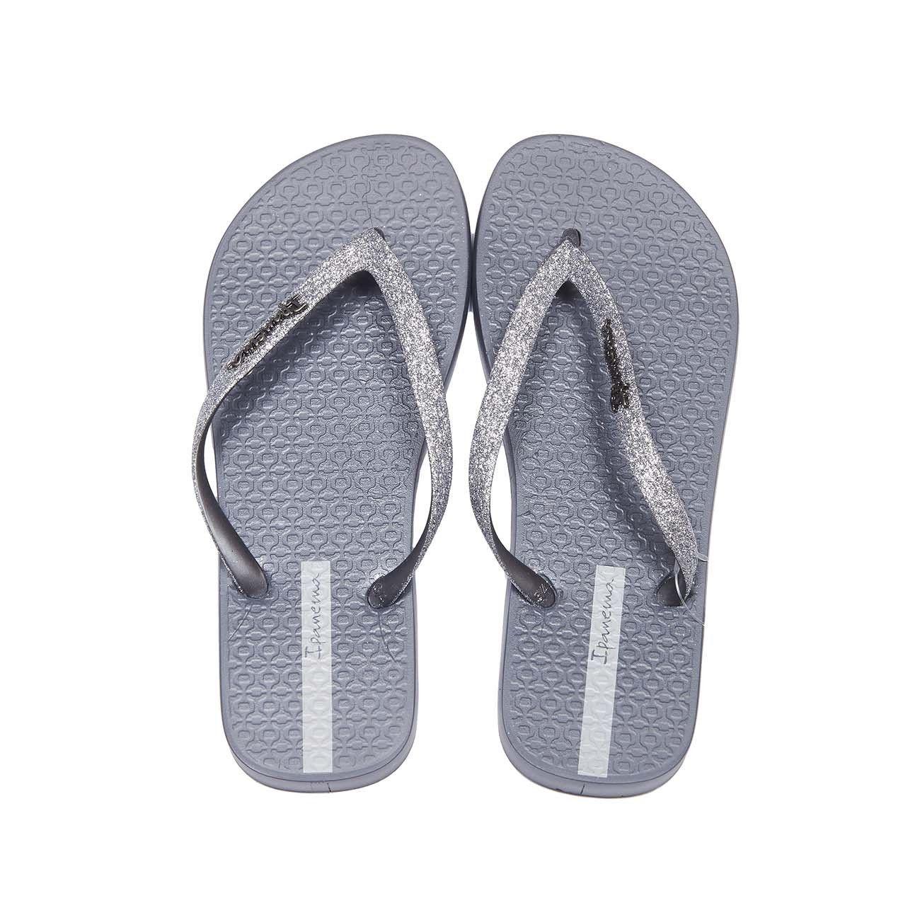 Womens Ipanema Loletta II Grey Sandal Flip Flop
