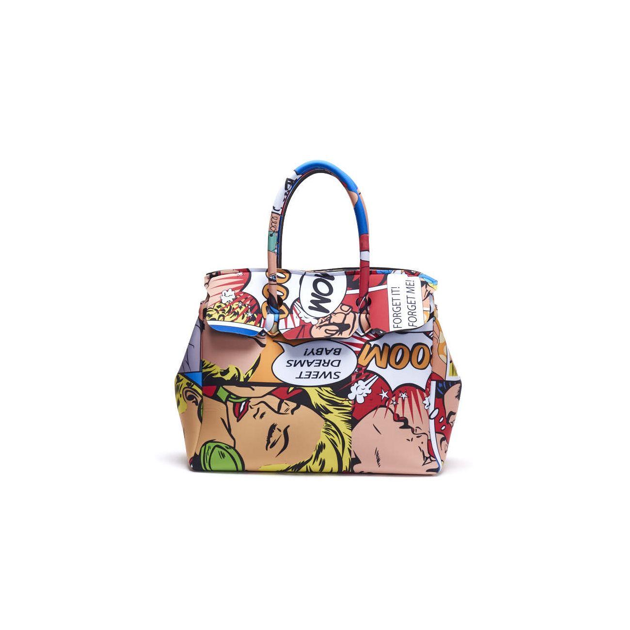 Borsa da donna Cartoon 2.0 Cloud Lycra Printed Save My Bag