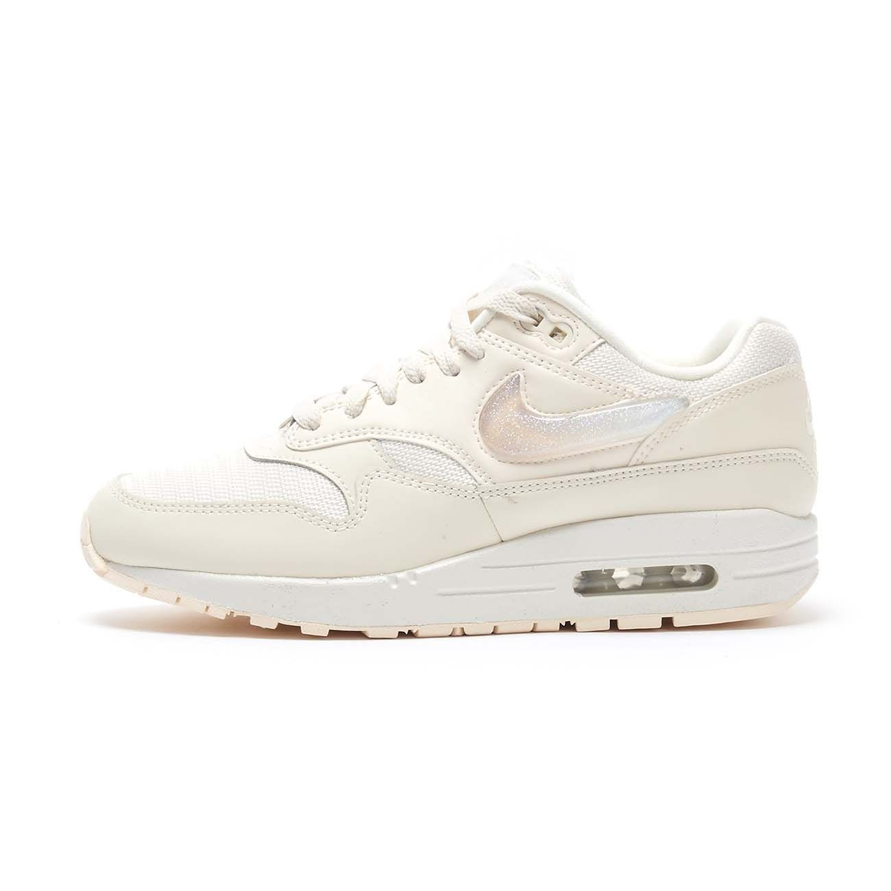 NIKE SNEAKERS AIR MAX 1 JP Woman Pale ivory summit white ...