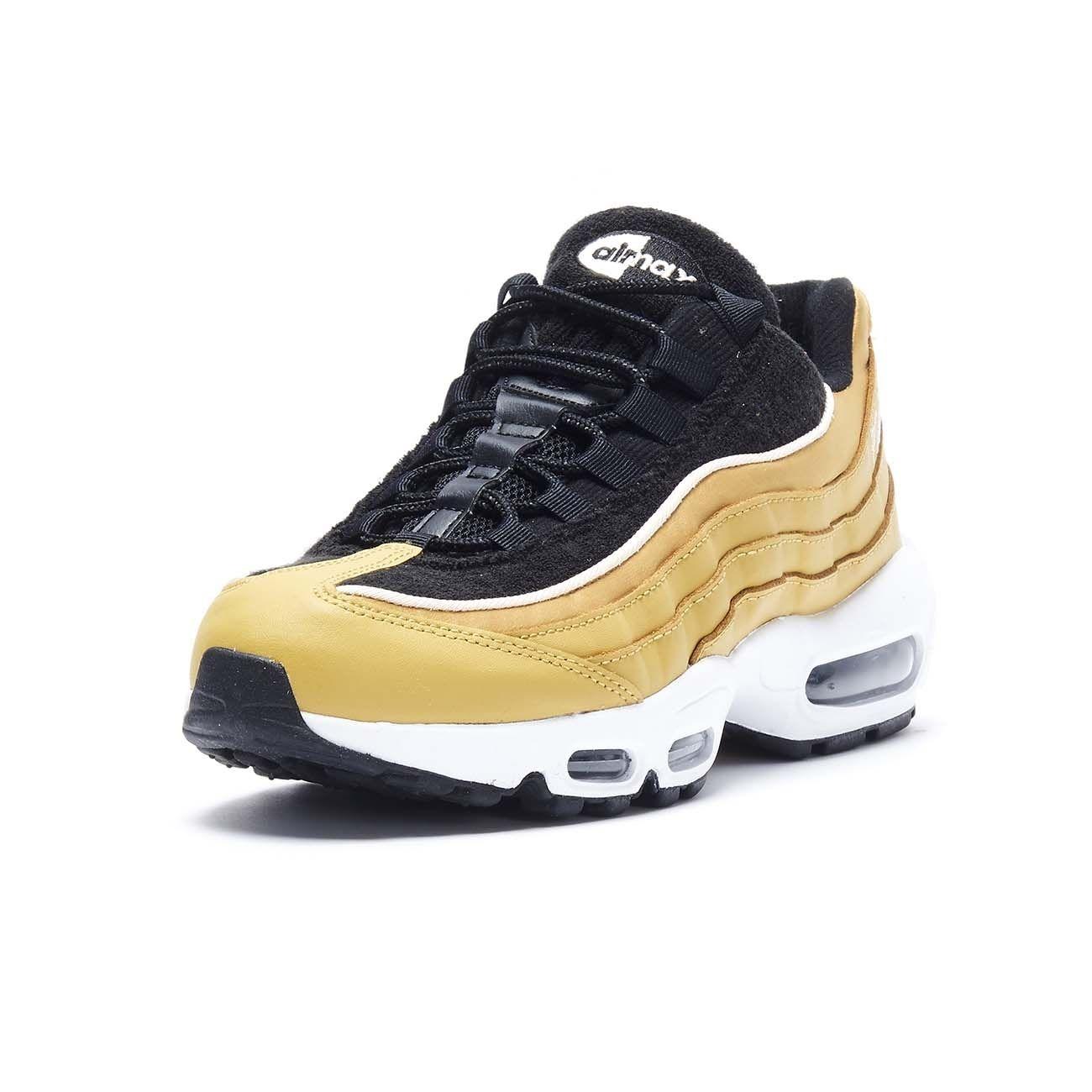 NIKE SNEAKERS AIR MAX 95 LX Woman Wheat gold   Mascheroni Sportswear