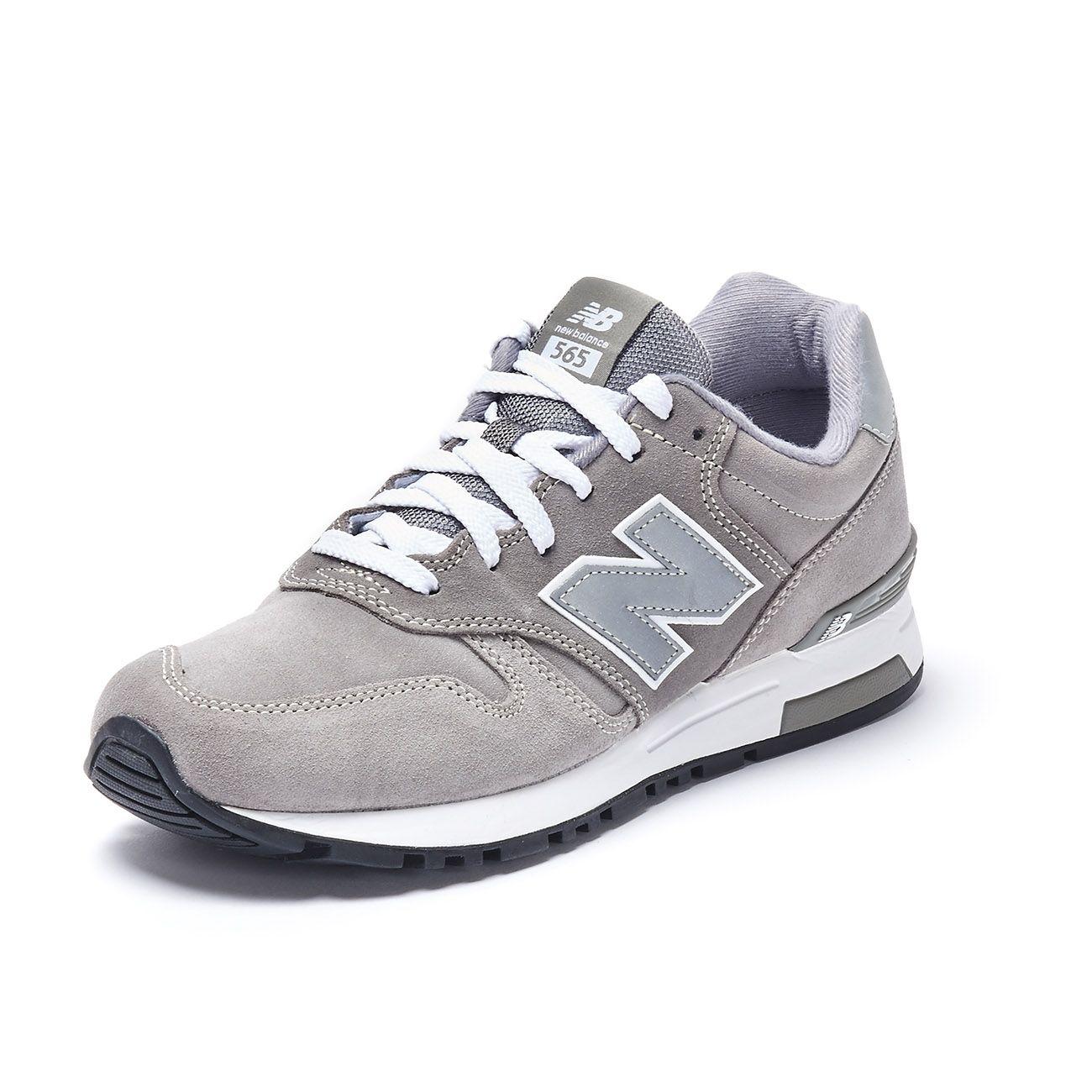 NEW BALANCE SNEAKERS LIFESTYLE 565 Man Grey | Mascheroni Sportswear