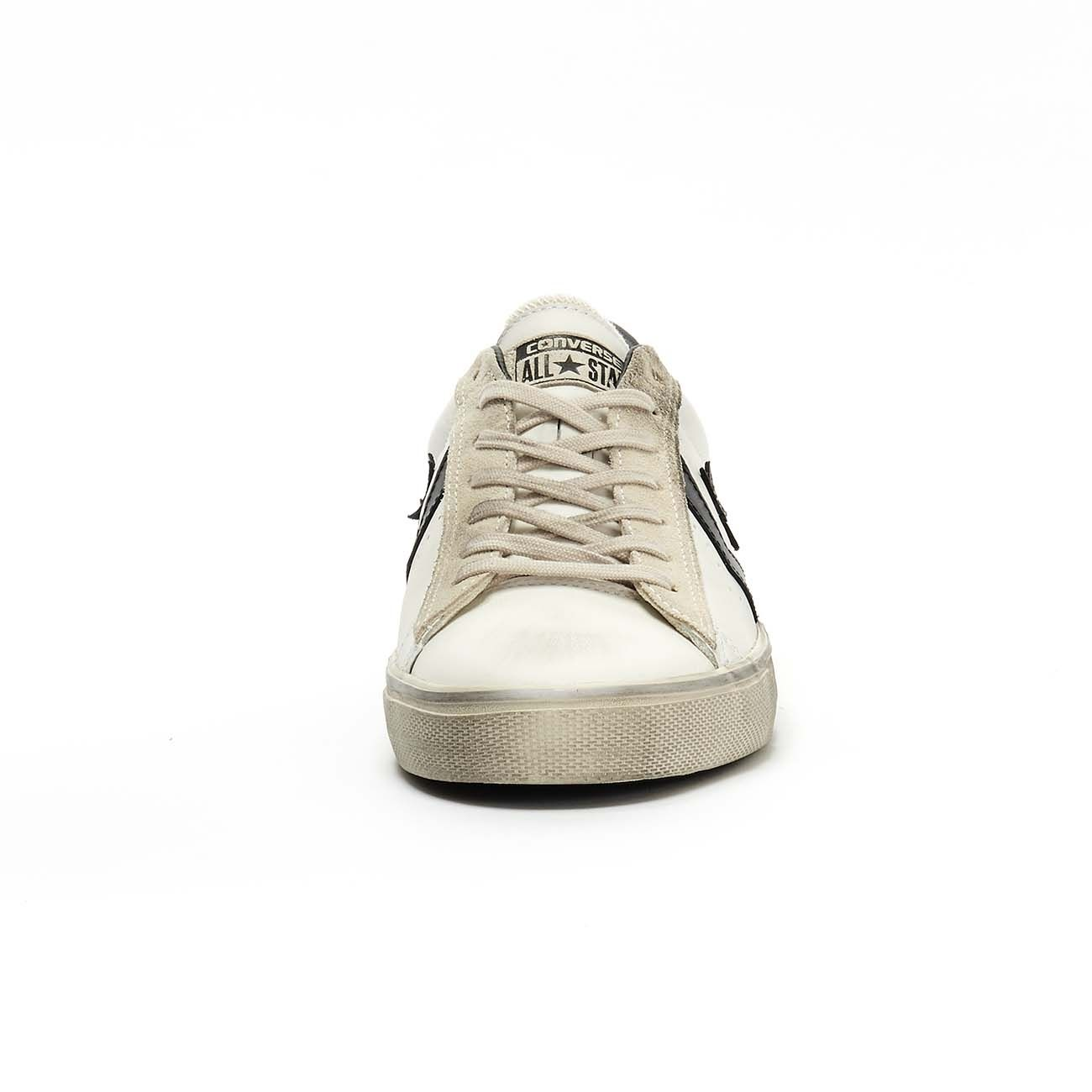 CONVERSE SNEAKERS PRO LEATHER VULC DISTRESSED OX Men White ...